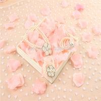 Kids pearl jewelry set ,flower girl Necklace and bracelet set,TL02
