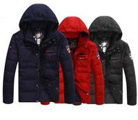 2014 New Arrival Men Winter Jacket Warm Thick Down Jacket Men's Jacket Shark Men's Parka  Famous brand