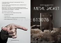 Metal Jacket (The Blister Card Clip),Metal close up magic/magic props