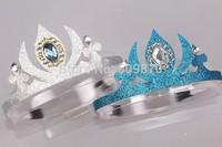 Hot Sales !! children girl Frozen elsa Queen's crown cosplay Coronation crown Headdress 20pcs/lot