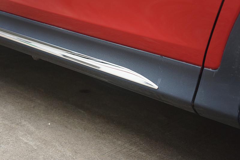 Stainless steel Body Side Door Molding trim For 2013 2014 Toyota RAV4 RAV 4(China (Mainland))