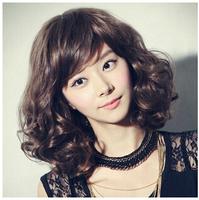 311 Bangs hair / pear wig / fashion handsome woman with short hair fluffy
