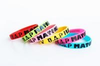 B.A.P 6 colored rabbit head MATOKI 3D stereoscopic multicolor bracelet b.a.p kpop  b.a.p matoki