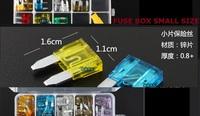 Automotive fuse plug suit vehicle fuse box small size 2-40A Free shipping 100pcs/lot