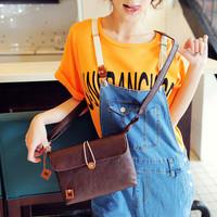 Fashion vintage small cross-body bag candy color soft brief fashion elegant one shoulder cross-body bags female