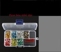 Automotive fuse plug suit vehicle fuse box Mini size 2-40A Free shipping 100pcs/lot