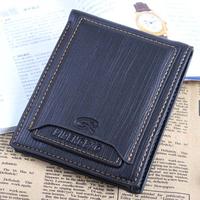 Genuine Leather Men Wallets Leather Brand Wallet Men Standard Wallets Pure Fashion HB-181