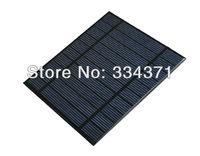 20pcs/Lot 5V 0.45A 2.2W - 2.5W mini solar panels small solar power 3.7v battery charger solar Led light solar cell free shipping