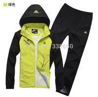Wholesale sportswear suit men's casual sportswear spring and autumn male sports suit male sports 9333