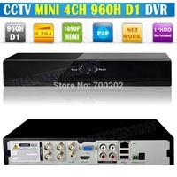 2014 Promotion 4 Channel Digital Video Recorder Mini CCTV DVR 4CH 960H D1 H.264 Standalone DVR