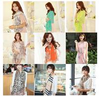 160cm*70cm 22 colors Pick 2014 Fashion Women's Chiffon Silk Scarf winter Wrap shawl scarves Free Shipping
