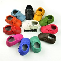 baby girls soft shoes frings shoes 2014 new style baby moccasins soft moccs baby shoes free shipping wholesale 300 pcs/lot