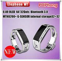 Elephone W1 Anti Thief Smart Bracelet pedometer For Sport Wristband Bluetooth Power Balance Energy Bracelet for Phone