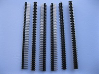 30 pcs SMD SMT Pitch 2.54mm 2x40 80pin Breakable Male Pin Header Double Row Strip Gold Plated