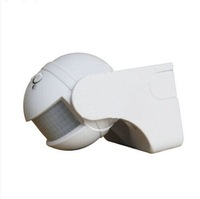 1Pc 180 Degree Security infrared Motion Sensor Switch Pir Detector White