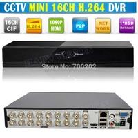 Video Surveillance 16 Channel Digital Video Recorder 16 CH CCTV DVR 16CH, Support Network, HDMI, P2P