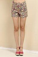 Free shipping 2014 za*  Flower printed Haroun Pants Women Trousers American apparel pants  summer-Autumn