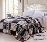 150*200cm super soft fleece blanket summer autumn blankets quilt for full twin bed fashion textile