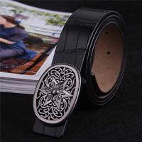Free shipping cheap belts for men black vintage mens belt