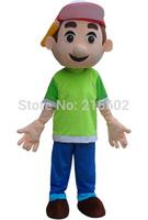 2014 New Arrival Handy Manny Mascot Costume Tool Boy Mascot Costume Free Shipping