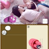 DHL free 50pcs/lot Sex toy for women Laestest design penguin remote control Vibrating egg jump egg