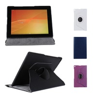 360 Degree Rotating PU Leather Stand Case Cover For Sony Xperia Tablet Z2 10.1'' S5Q