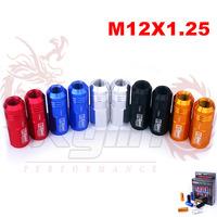 KYLIN STORE - D1 SPEC RACING LUG NUTS   P:1.25, L:52mm (20pcs/set)Bule/red/blcack/golden/silver/purple