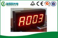7 segment 4 digitals LED advertising board/LED display with bracket /LED Reception display /led standing display