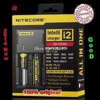 2014 Nitecore  i2  CR123A 10440 16340 AA AAA 14500 18650 26650, 22650, 17670,Li-ion/NiMH Universal Battery Charger Free shipping