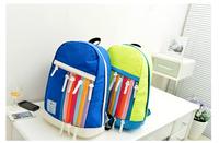 360 New Korean style Canvas mochila bolsas feminina Ipad backpack Multi-Color Zipper school bags for teenagers kanken  backpack