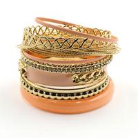 2014 NEW fashion shourouk bracelet design multilayer high quality bracelet for fashion women jewelry wholesale