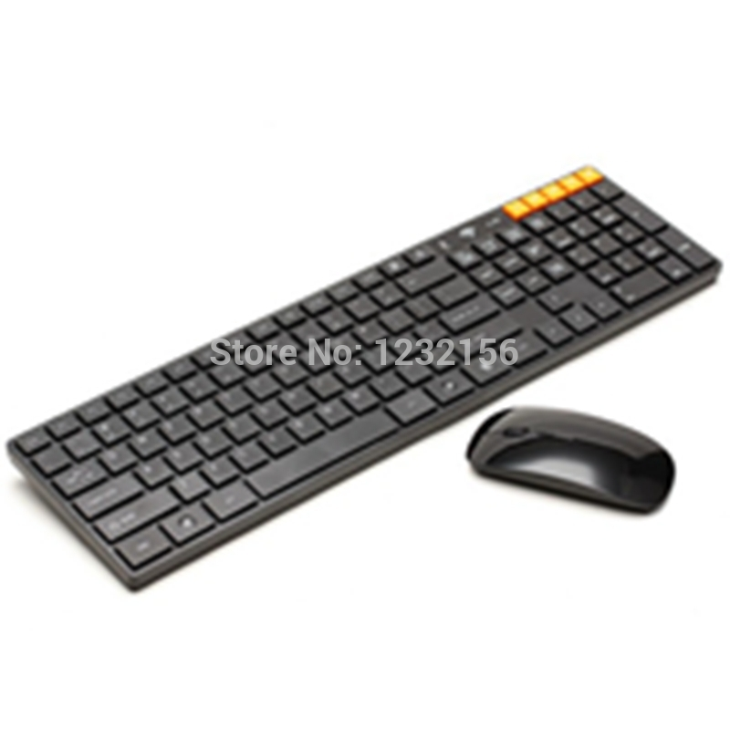 Factory direct sale 2.4GHz Wireless Optical Keyboard Mouse Combo for Apple and Mac KM-805(China (Mainland))