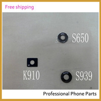 Original Camera Lens Glass  For Lenovo K910 /s650 /s939 Camera glass Housing Parts Replacement  , Free Shipping+ Tracking number