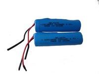 18650 lithium ion rechargeable battery pack 3.7V 2200mAh