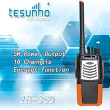 TESUNHO TH-360 encrypted uhf high power professional long range 2 way radio