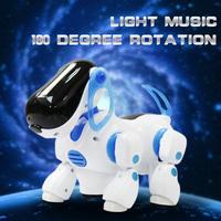 Lovely Electronic Robot Walking Dog Puppy Toy Music Shine Pet Safe Kids Toys Lights, Free shipping