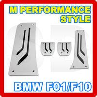 for BMW F01 02 F07(GT) F10 F11 12 Manual ALUMINUM Brake Footrest Pedal LHD