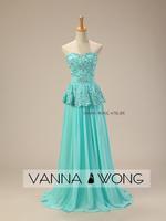 free shipping robe de soiree 2014 new fashion vestido de festa longo crystal actual lmages party gown Formal Evening Dresses