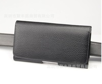 2014 Holster Belt Clip Leather Case For Sony Xperia Z Ultra XL39H C6802 Used in Climb Ride Outdoor activities