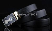 Wholesale belt head layer Men's leather belt new image   automatic buckle belts
