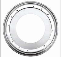 nine inches Round Swivel Plate 360-degree rotating flexible