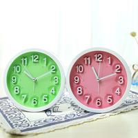 candy color clock stereo digital desktop alarm clock brief Alarm Clocks desk clock wall clock