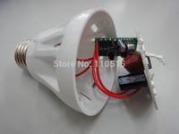 50pcs/lot 3W 5W /7wSound And Light controlled LED Sensor lamp,220V B22/E27 Warm white/ Cold white Audio control bulb