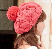 New Arrive Autumn Fall Winter Hats Warm Hat Wool Knitted Cap Skullies Beanies Hat For Women