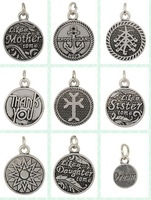 Fashion ( Can mix)2014  10PCs Alex and Ani  Silver Alloy Charm Pendants  (AAC)