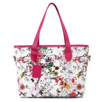 NEW 2014 Fashion Flowers Handbag Women Bag Women Shoulder Bags Candy Color Women Leather Handbags Tote Bag Women Handbag