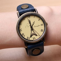 Free shipping wholesale 2013 big watches Eiffel Tower  hot sale dropship