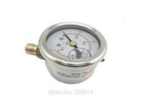 "10 pcs of BSP 1/8"" Radial connection Pressure gauge 140 PSI 10 Bar brass bar"