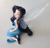 2014 New Arrival High Quality PVC (6pcs/set) 5Set/Lot Tinkerbell Fairy Adorable tinker bell Figures Free Shipping