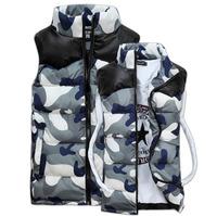 CD-67 Lover women Men's vest Down vest Sleeveless jacket Casual Waistcoat women Veste homme Vest men Man jacket Military